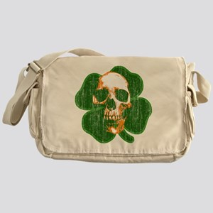 irish skull Messenger Bag