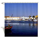 Portugal Seaside Shower Curtain