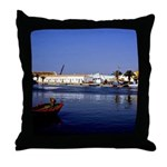 Portugal Seaside Throw Pillow