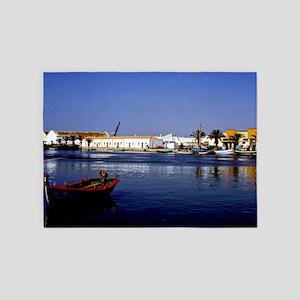 Portugal Seaside 5'x7'Area Rug