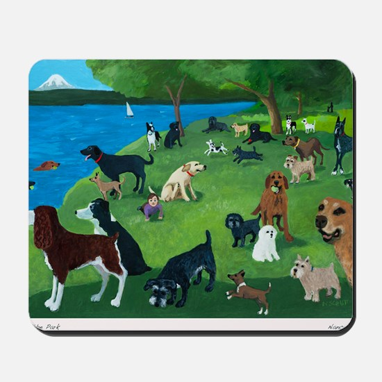 Sunday Park custom Mousepad
