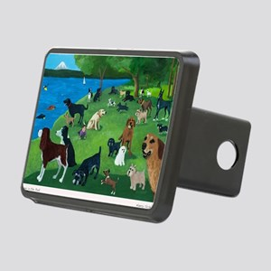 Sunday Park custom Rectangular Hitch Cover