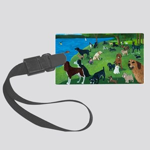Sunday Park custom Large Luggage Tag