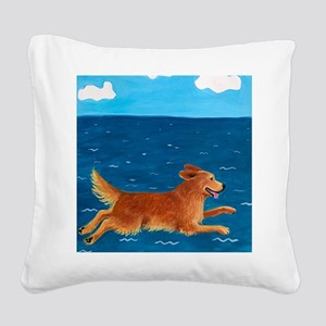 LEAP custom Square Canvas Pillow