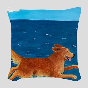 LEAP custom Woven Throw Pillow