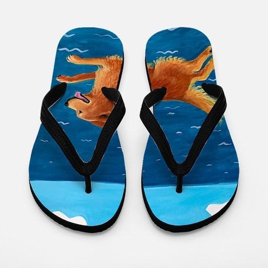 LEAP custom Flip Flops
