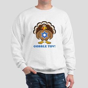 Funny Thanksgiving Hanukkah 2013 Sweatshirt