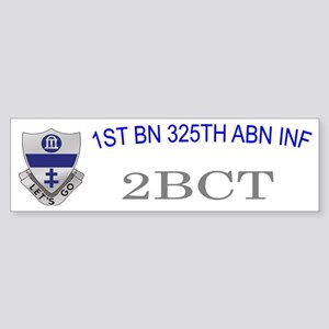 2-1st 325th abn inf cap1 Sticker (Bumper)