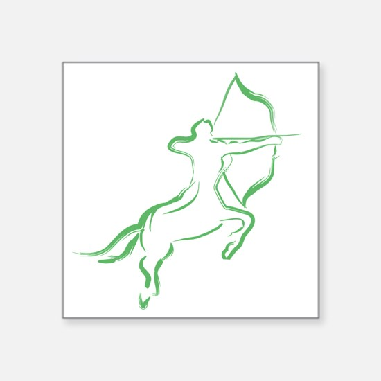 "centaur Square Sticker 3"" x 3"""