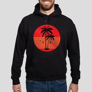 vintage-palm-tree Hoodie (dark)