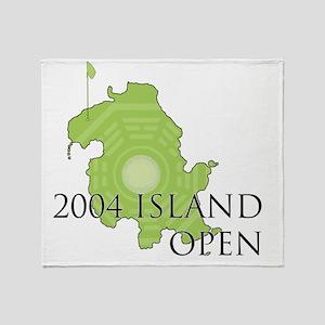 island-golf Throw Blanket