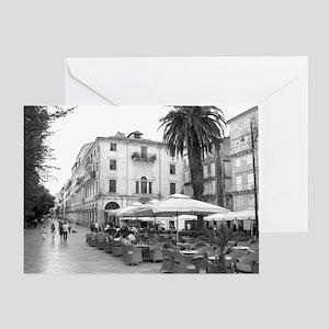 corfu_framed_print_kerkira Greeting Card