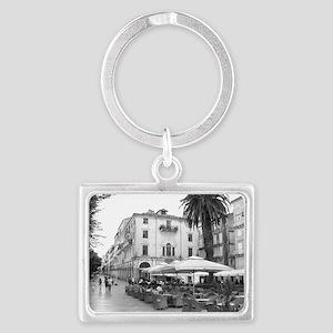 corfu_framed_print_kerkira Landscape Keychain