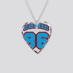 NUMBERbaseball Necklace Heart Charm