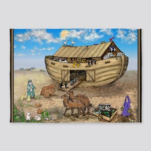 noahs ark cafe press 5'x7'Area Rug