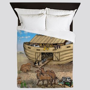 noahs ark cafe press Queen Duvet