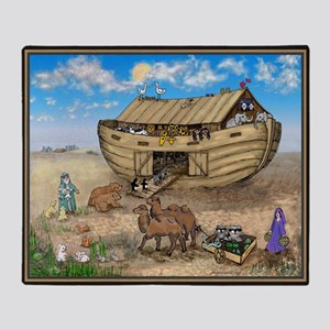 noahs ark cafe press Throw Blanket