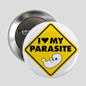 "I LOVE My Parasite 2.25"" Button"