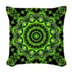 Forest Dome Woven Throw Pillow