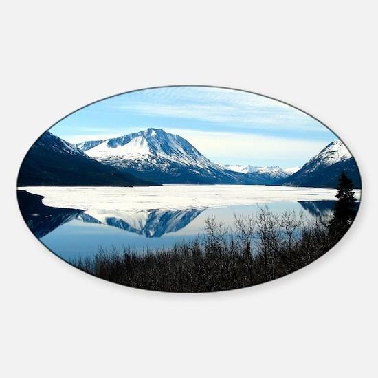 Alaska tour from Skagway - photo 2  Sticker (Oval)