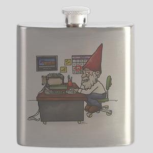 Tax Gnome.Cut Flask