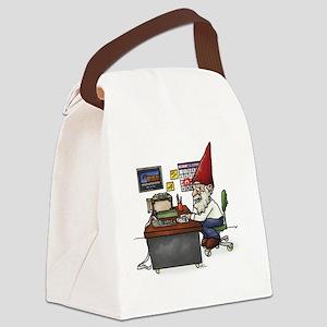 Tax Gnome.Cut Canvas Lunch Bag