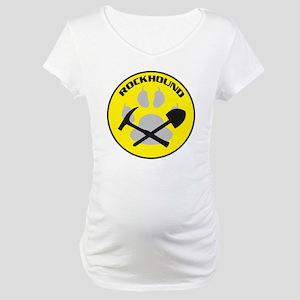 NEWrockhound-sticker Maternity T-Shirt