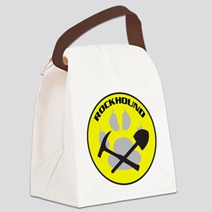 NEWrockhound-sticker Canvas Lunch Bag
