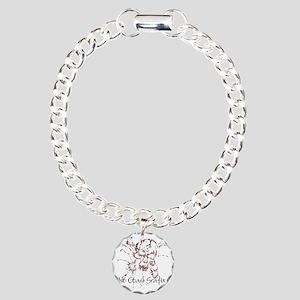 3-No Coast Blk Charm Bracelet, One Charm
