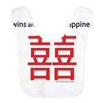 Red Double Happiness Bib