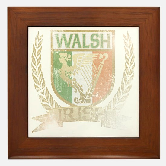 WALSHIRISHCREST Framed Tile