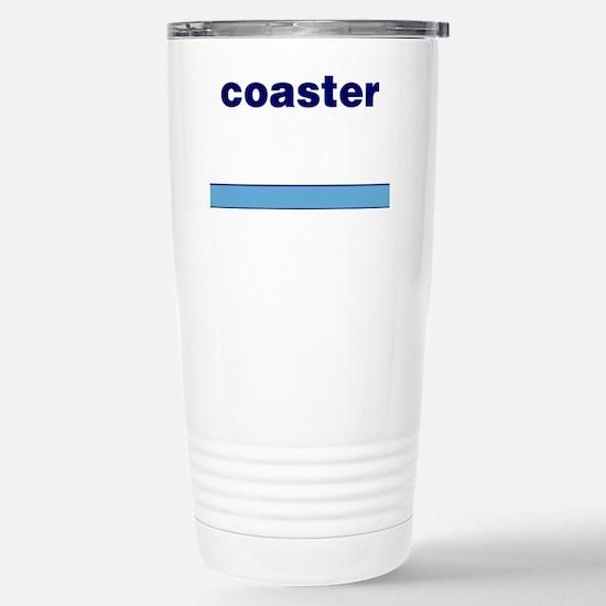 Generic-Coaster Stainless Steel Travel Mug