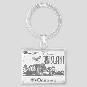 losttv_gray Landscape Keychain