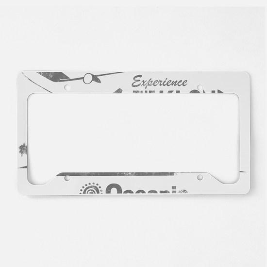 losttv_gray License Plate Holder
