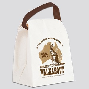 walk1 Canvas Lunch Bag