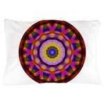 Quilted Wagon Wheels Mandala Pillow Case