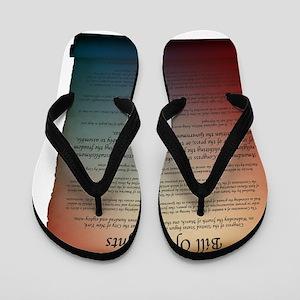 bill of rights_1 Flip Flops