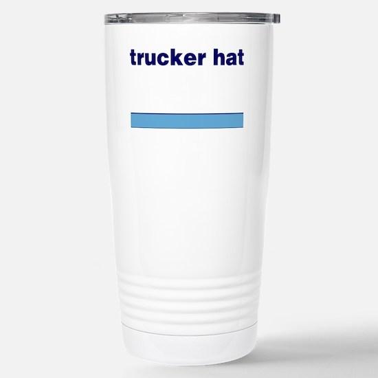 Generic-Trucker-Hat Stainless Steel Travel Mug