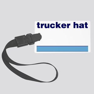 Generic-Trucker-Hat Large Luggage Tag