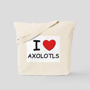 I love axolotls Tote Bag