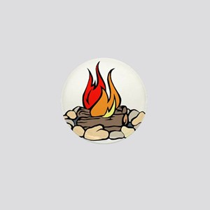 Campfire Mini Button