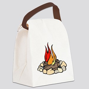 Campfire Canvas Lunch Bag