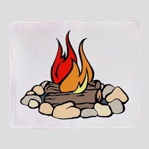 Campfire Throw Blanket