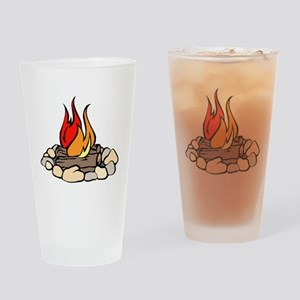 Campfire Drinking Glass