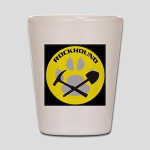 bkNEWrockhound-sticker Shot Glass