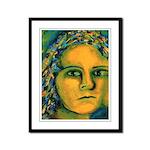 Anticipation Goddess Framed Panel Print