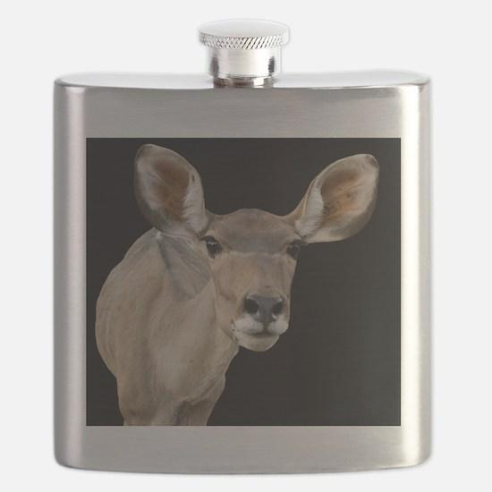 (2) kudu ears 2 Flask