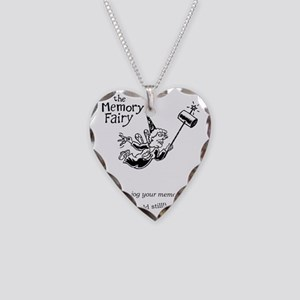 memory fairy Necklace Heart Charm