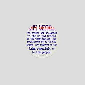Tenth Amendment Mini Button