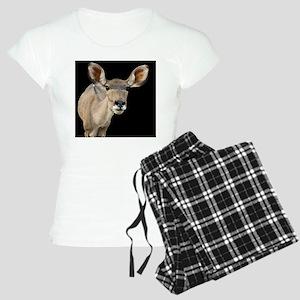 (15) kudu ears 2 Women's Light Pajamas